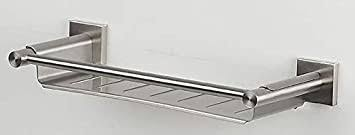 spirella wand glasablage nyo badezimmerablage ablage wandablage für das badezimmer edelstahl 30cm zum kleben und bohren
