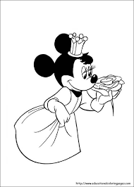 Minnie Mouse Coloring Sheets Free Pages