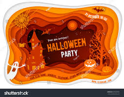 Other Names For Halloween by Halloween Night Background Pumpkin Haunted House Stock Vector