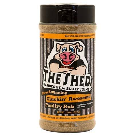 The Shed Cluckin Awesome Poultry Rub - Large - 11 oz