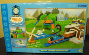 Thomas Tidmouth Sheds Deluxe Set by Roller Coaster Mountain Set Thomas And Friends Trackmaster Wiki