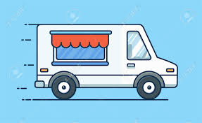 100 Food Delivery Truck Picnic Car With Van Vector