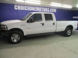 100 Ford 350 Truck 2005 Used Super Duty F SRW CREW CAB 4X4 LONG BED DIESEL At