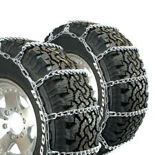 Titan Truck Link Tire Chains On Road Snow/Ice 5.5mm 275/65-18 | EBay