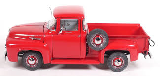 Danbury Mint 1956 Ford F-100 Pickup Truck Diecast 1:24 Scale For ... 1956 Ford F100 Pickup Truck 124 Scale American Classic Diecast World Famous Toys Diecast Trucks F150 F 1953 Car Package Two 143 Scale 2016f250dhs Colctables Inc New 1940 Black 125 Model By First Chevrolet Chevy 2017 Dodge Ram 1500 Mopar Offroad Edition Hobby 1992 454 Ss Off Road Danbury Mint For 1973 Ranger Red White 118