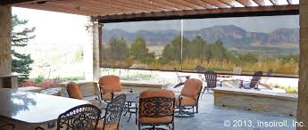 Patio Sun Shades Roll Up In Dining Home Exterior Patio Ideas Feat