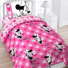 Minnie Mouse Bedding Set Twin by Disney Minnie Mouse Love Twin Reversible Bed In Bag Bedding Set By