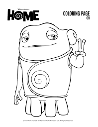 Home Coloring Pages Printable