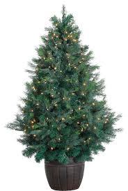 5 Cedar Teardrop Christmas Tree With EZ Connect Clear Smart Lights