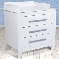 infantastic baby changing unit white nursery furniture chest 3