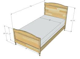 What Size Is A Twin Bed Frame Full Size Twin Size Bed