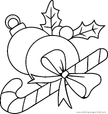 Ornaments Christmas Color Page Holiday Coloring Pages Plate Sheetprintable