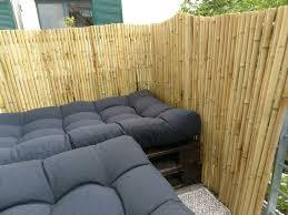 neu bambus sichtschutzzaun balkon garten zaun sichtschutz