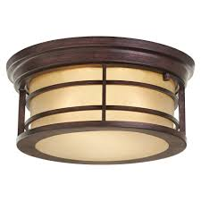Home Decorators Collection Lighting by Home Decorators Collection 2 Light Bronze Outdoor Ceiling Light
