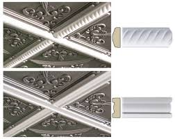 Ceilume Drop Ceiling Tiles by Ceiling Tile Trim Molding By Ceilume