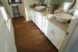 Teak Floor Bathroom New Home Design That Will