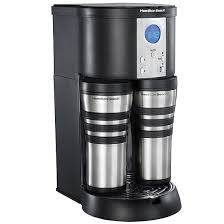 Hamilton BeachR Stay Or GoR Custom PairTM Coffee Maker