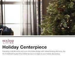 Hayden Pine Artificial Christmas Tree