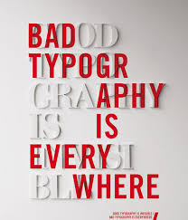 Good Typography Is Invisible Bad Everywhere Source Six Revisions