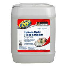 Zep Floor Sealer Home Depot by Shop Zep Commercial Heavy Duty Floor Stripper Concentrate 5 Gallon