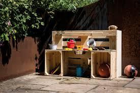 matschküche selber bauen anleitung hornbach