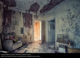 Old House Residential Structure Dark Interior Design Dirty Living Or Residing Creepy Ruin Redecorate