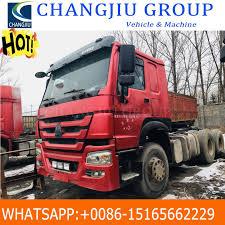 100 Cheap Semi Trucks For Sale China Price 6X4 4150tons Capacity HOWO Trailer Head