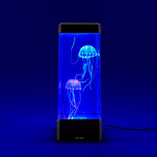 neon colour changing jelly fish tank the gift and gadget store