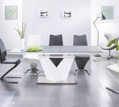 esstisch küchentisch esszimmertisch schwarz weiß hochglanz maße wählbar neu