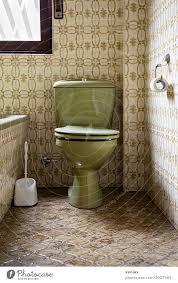 alt grüne toilette zwischen dezent farblich angepassten