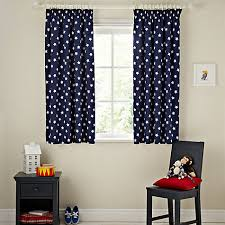 Lined Curtains John Lewis by Buy John Lewis Glow In The Dark Star Pencil Pleat Blackout Lined