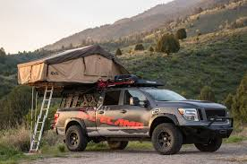 Nissan Titan Truck Tent Valuable Nissan Brings Adventure Themed ... Tents For Trucks Yard And Tent Photos Ceciliadevalcom Sydney Roof Top Tent 23zero Nuthouse Industries Expedition Truck Bed Racks Freespirit Recreation M60 Adventure Series Rooftop 35 Person This Is Nigel My Adventure Truck Im Doing A Walk Through Of Nissan Titan Valuable Brings Themed S2e8 Adventure Truck Diessellerz Blog Pickup Topper Becomes Livable Ptop Habitat 19972016 F150 Rightline Gear Full Size Review Install Bed Of Raised Soil Breakfast Columbia Roof Top Northwest Accsories Portland Or