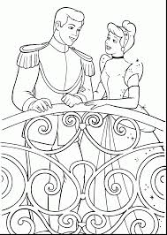 Extraordinary Disney Princess Cinderella Coloring Pages With Printable And Peach