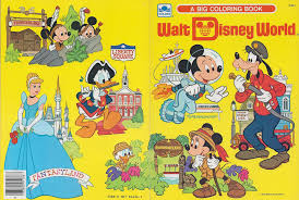Walt Disney World Coloring Book 1983