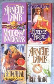 ARNETTE LAMB True Heart Border Bride Bethrothal Maiden Of Inverness Very Good PB