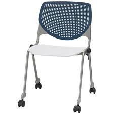 2300 KOOL Series Stacking Poly Silver Steel Frame Armless Chair With Navy  Perforated Back And Casters - White Seat Bonas Meeting Room Mesh Folding Chair Traing Stackable Conference Chairs With Casters Buy Cheap Chairsoffice Visitor Chair With Armrests On Casters Tablet Gunesting Contemporary Visitor Stackable Amazoncom Office Star Deluxe Progrid Breathable Back Freeflex Coal Seat Armless 2pack Titanium Finish Kfi Seating Poly Stack 300lbs Alinum Mobile Shower Toilet Commode Smith System Uxl Httpswwwdeminteriorscom Uniflex Four Leg Artcobell Transportwheelchair Ergonomic High Executive Swivel