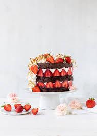 doppeldecker erdbeer schoko törtchen