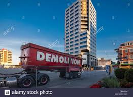 Demolition Truck Stock Photos & Demolition Truck Stock Images - Alamy