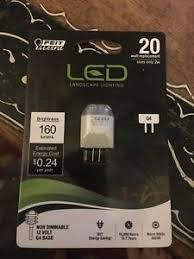 feit electric g4 led led light bulb 12v 20w landscape light bulb