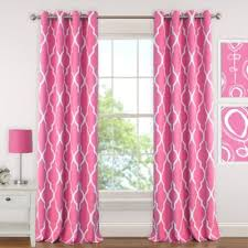 buy pink window curtains kids from bed bath beyond
