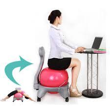 Stability Ball Desk Chair by Yoga Ball As Desk Chair Size Desk Chair Yoga Ball U2013 Design Ideas