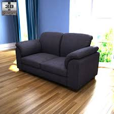 ikea tidafors two seat sofa 3d model hum3d