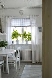 Kitchen Curtain Ideas Pinterest by Cottage Style Kitchens Beach Railing Stairs And Incredible Kitchen