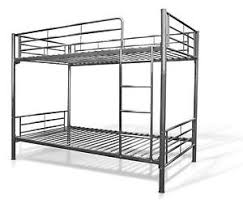 White metal full over full bunk bed – all american furniture –