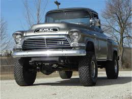 1957 GMC 4x4 Truck For Sale | ClassicCars.com | CC-1075996 Gmc Sierra Heidi Thats How We Should Make Yours Look Lifted Gmc Sierra 1500 Slt 4x4 Truck Rental Work Trucks For Commercial Used 2016 4x4 For Sale In Pauls Valley Ok 2001 Extended Cab Z71 Good Tires Low Miles 1956 1 Ton Napco Vintage Pinterest 2015 All Terrain 47819 Mvs 2014 Sle Youtube 124 Revell 78 Pickup Kit News Reviews Model Northwest Motsport Jakes 1966 Truck 2017 Black Widow Dave Arbogast Buick