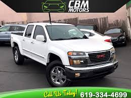 100 2009 Gmc Truck Used GMC Canyon SLE LIMITED EDITION OFFROAD W BLUETOOTH