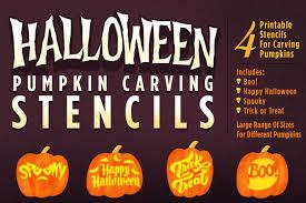 Pumpkin Masters Carving Templates by Halloween Pumpkin Carving Stencils Illustrations Creative Market