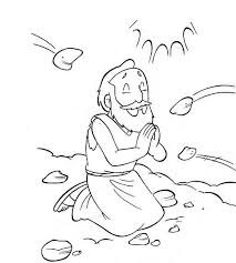 Stoning Of Stephen Childrens Lesson