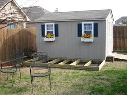 improve the looks of a storage shed 6 steps