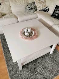 ikea wohnzimmer tisch hemnes weiß